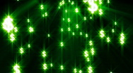 Glowing particles background loop Stock Footage