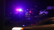 Police Traffic Stop Stock Footage