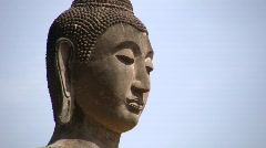 Ancient Ruins of Buddhist Temple Buddha Statue Buddhism Thailand Wat Old  Stock Footage