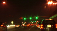 Highway City Driving Time Lapse Stock Footage