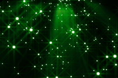 Glowing particles background loop - stock footage