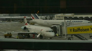 HD1080p Vienna International Airport Austria Stock Footage