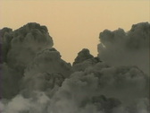 Stock Video Footage of Vulcano Cloud