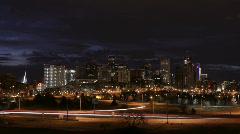 Kaunis Denver Sunrise intervallikuvaus Arkistovideo