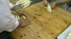 Bakery chala 2 Stock Footage