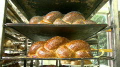 Bakery chala 4 Stock Footage