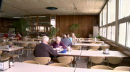 Stock Video Footage of Kibbutz diningroom 2