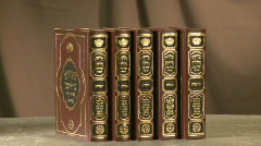 Torah books 1 Stock Footage