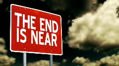 The End is Near 1336 Stock Footage