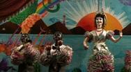 Automaton Cuban Orchestra 2 Stock Footage