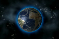 EARTH EXPLODES - stock footage