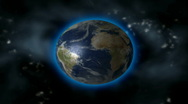 EARTH EXPLODES Stock Footage