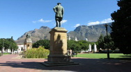 Stock Video Footage of Gardens &south African Gallery