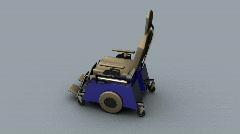 116 wheelchair handicap Stock Footage