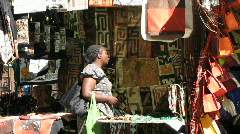 Greenmarket sqaure - stall Stock Footage
