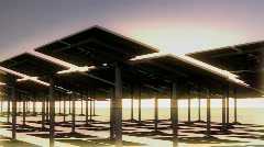 116 SOLAR array best Stock Footage