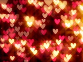 Stock Video Footage of Graceful scarlet background by Valentine's Day, vj NTSC