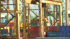 Industrial Port Stock Footage