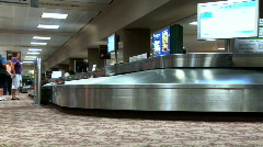 Airport Arrivals  Stock Footage