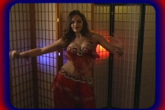 Beautiful Exotic Belly Dancer (4) Stock Footage