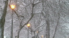 Winter Setting 3 Stock Footage