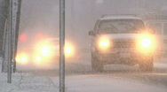 Winter Driving 1 of 3 Stock Footage