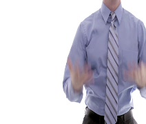Businessman Complaining Stock Footage