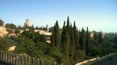 Walls of jerusalem 8 - stock footage