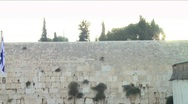 Stock Video Footage of Western Wall - Touristic site 3