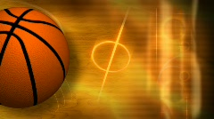 Basketball background hd Stock Footage