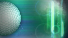 Golf bkgd hd Stock Footage