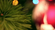 Stock Video Footage of Christmas tree