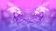 Stock Video Footage of 3d pink and purple teddy bears tvhd0105
