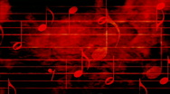 Textured Music Looping Background Stock Footage