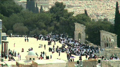 Temple Mount fix frame 3 Stock Footage