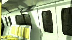 117 subway underground public transporation Stock Footage