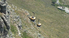 Cable car cross Stock Footage