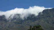 Table mountain cloth3 Stock Footage