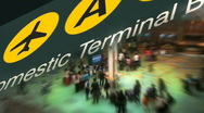 Stock Video Footage of airport collage