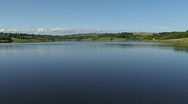 Summer lake Stock Footage