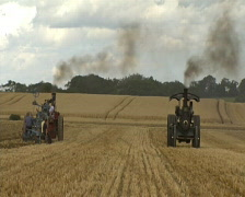 Steam Traction Stock Footage