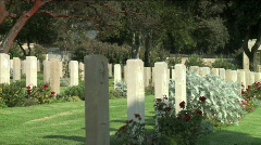 Mount Scoups Cemetery 8 Stock Footage