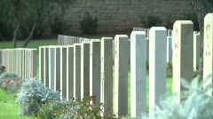 Mount Scoups Cemetery 7 Stock Footage