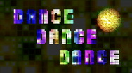 Stock Video Footage of Dance 80s Loop