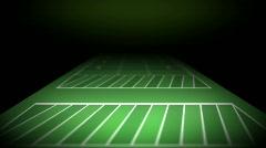 Football Field 1396 Stock Footage
