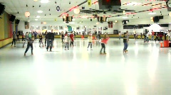 Skating Rink Stock Footage