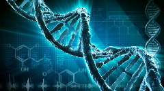 DNA strand  - stock footage