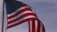 Stock Video Footage of United States of America Flag