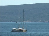 Stock Video Footage of Sailing Boat II