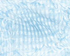 Gingham blue p Stock Footage